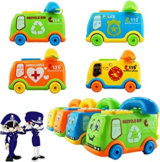 Anniston Kids Toys, Funny Music Cartoon Bus Phone Educational Developmental Kids Baby Toy Gift Pretend Play for Baby Child...