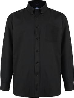 Kam Jeanswear Men's Oxford Classic Long Sleeve Shirt