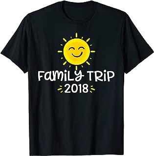 Family Trip T Shirt 2018 Family Vacation Novelty Shirt