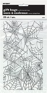 plastic wrap spider web