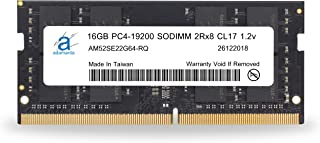 Adamanta 16GB (1x16GB) ラップトップのメモリアップグレードは、Asus ROG DDR4 2400Mhz PC4-19200 SODIMM 2Rx8 CL17 1.2v RAM DRAMに対応