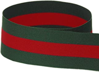 """USA Made 1-1/2"""" Out on The Town Striped Grosgrain Ribbon - 20 Yards (Multiple Widths & Yardages Available)"""