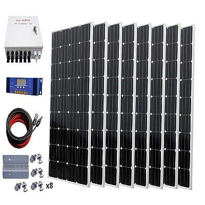 ECO-WORTHY 1300W Off Grid Monocrystalline Solar...
