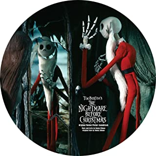 nightmare before christmas picture disc