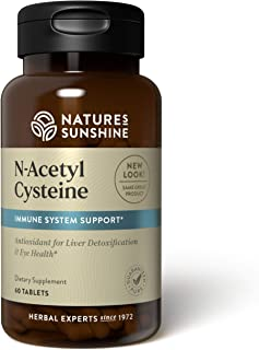 Nature's Sunshine N-Acetyl Cysteine (300 MG) 60 Tablets