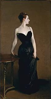 John Singer Sargent - Portrait of Madame X, Size 12x24 inch, Poster art print wall décor