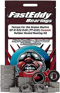 Tamiya For the Nissan Skyline GT-R R32 Drift (TT-01D) Ceramic Rubber Sealed Ball Bearing Kit for RC Cars