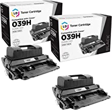 LD Compatible Toner Cartridge Replacement for Canon 039H 0288C001 High Yield (Black, 2-Pack)