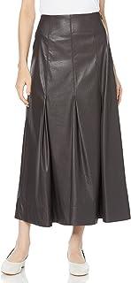 [ミラオーウェン] ふりミシンレザーライクナローロングスカート 09WFS214160 レディース