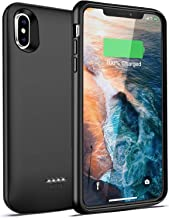 iPhone X/XS Battery Case, Slim Case Charger, Protective Rechargeable Charging Case Protective for iPhone 10, Extended Portable Power Pack Case, 4000mAh by iBatrycas (5.8 Support Lightning Earphones)