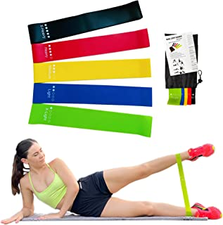 Resistance Bands Set Fitness Equipment Rubber Band Pull Band Exercise & Fitness Band for Legs, Gym Equipment Elastic Bands...