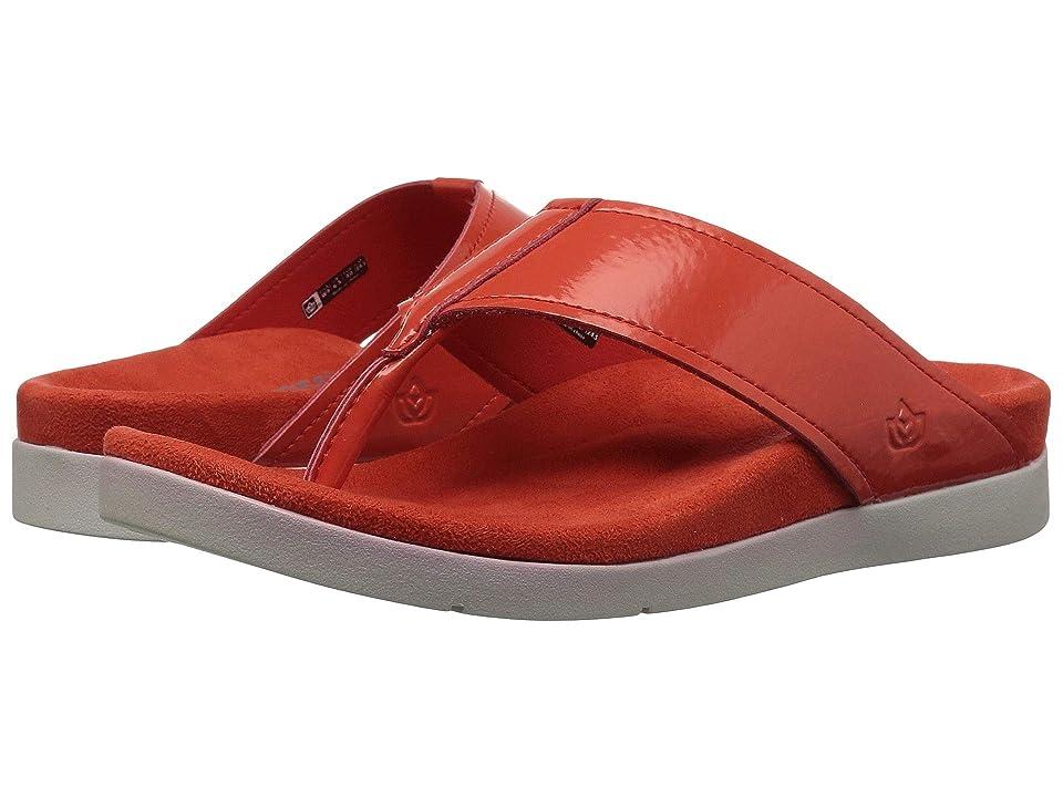 Spenco Hampton Sandal (Cherry Tomato) Women