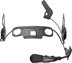 10U Motorcycle Bluetooth Communication System with Handlebar Remote for Shoei J-Cruise