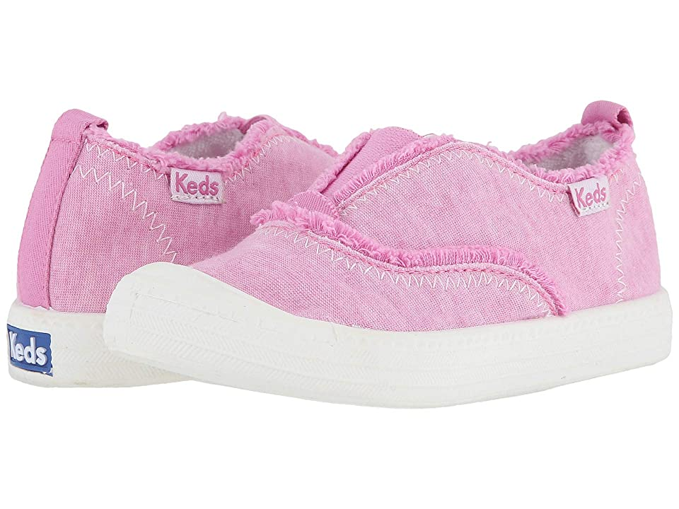 Keds Kids Breaker Slip-On (Toddler/Little Kid) (Pink Terry) Girl