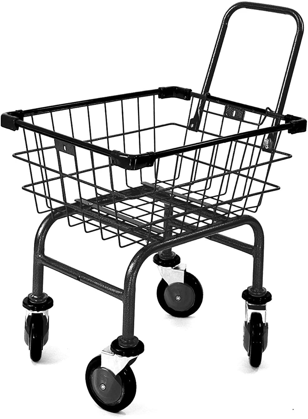 Compact Cart Now on sale House Utility Jelly Long-awaited with Handle Black U-