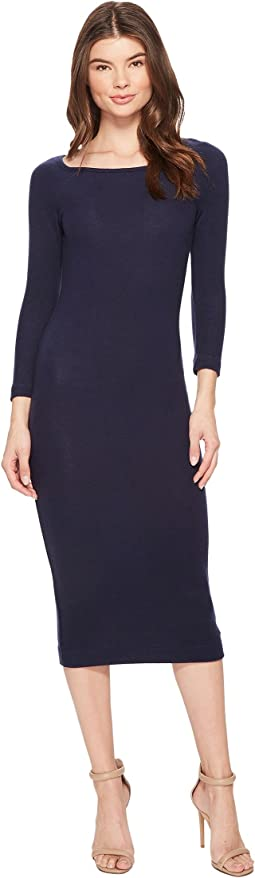 Three Dots - Brushed Sweater Rib Dress
