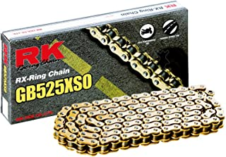 RK Racing (GB525XSO-116) Gold RX-Ring Chain with Connecting Link