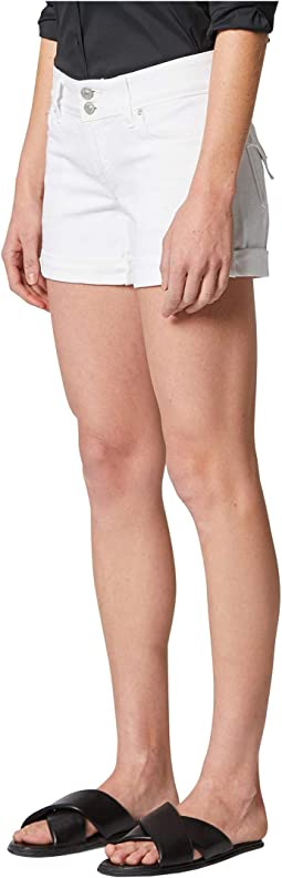 Croxley Cuffed Shorts in White