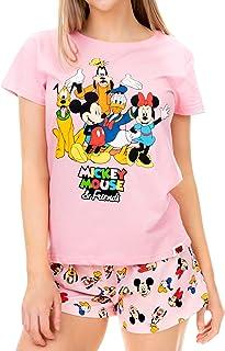 Disney - Ensemble De Pyjamas - Mickey Mouse Minnie Mouse et Friends - Femme