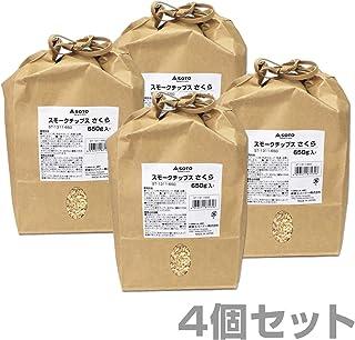 新富士バーナー(SOTO) スモークチップスさくら お徳用650g×4個セット ST-1311-650*4