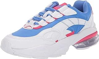 PUMA Women's Cell Venom Sneaker, White-Blue Glimmer