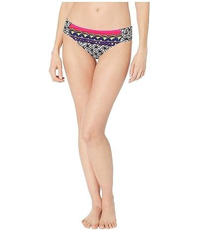 Trina Turk Tanzania Scarf Shirred Side Hipster Bottoms (Multi) Women