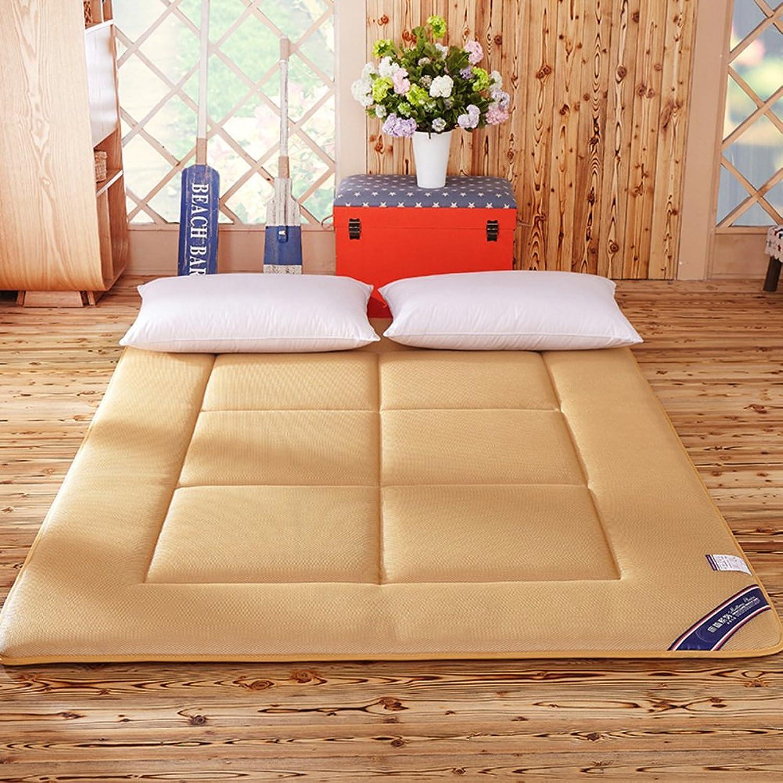 Tatami mattress student bedding mat is folding predective pads mattress ground floor sleeping pad-B 90x200cm(35x79inch)