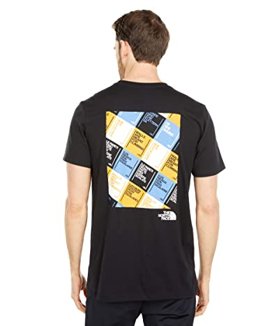 The North Face Walls Are Meant For Climbing Short Sleeve Tee (TNF Black/Multicolor) Men