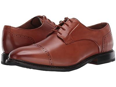 Bostonian Bridgeport Cap (Tan Leather) Men