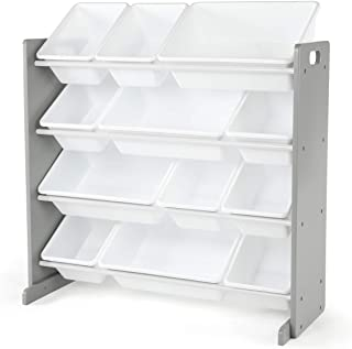 Humble Crew Kids Toy Organizer, Toddler, Grey/White