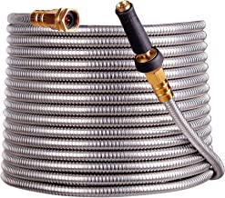 Best the indestructible stainless steel garden hose Reviews