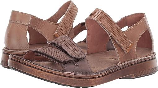 Arizona Tan Leather/Shiitake Nubuck/Amber Nubuck