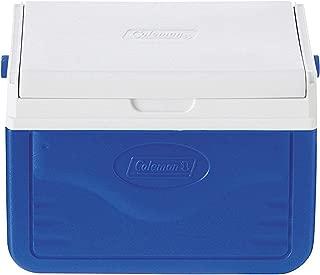 coleman fliplid 6 personal cooler blue