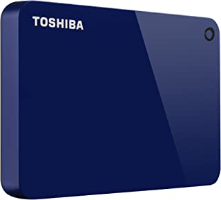 Toshiba Canvio Advance 1TB Portable External Hard Drive USB 3.0, Blue (HDTC910XL3AA)