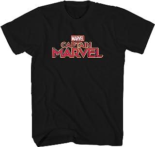 تي شيرت للبالغين عليه شعار ملصق فيلم Marvel Captain Movie