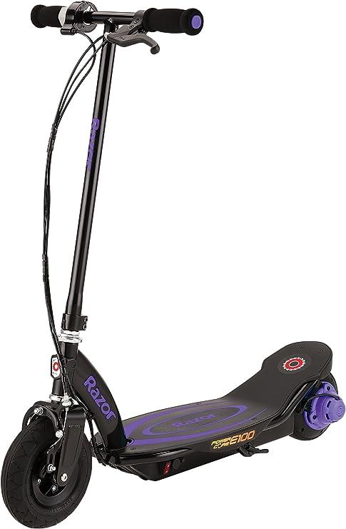 Razor Kid s Powercore E100 patinete eléctrico, color morado