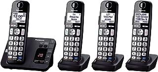 Panasonic KX-TGE234B 4-Handset Landline Telephone