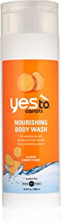 Yes To Carrots Nourishing Body Wash, Classic Carrot Scent, 16.9-Ounce