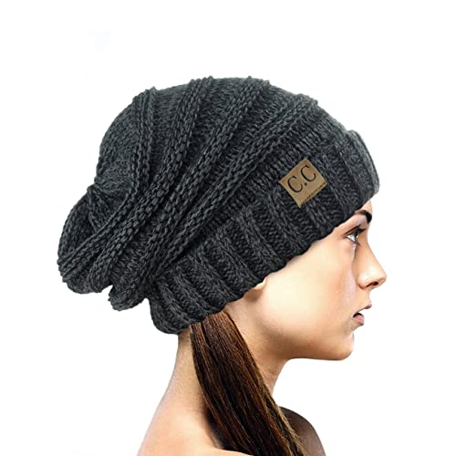 NYFASHION101 Oversized Baggy Slouchy Thick Winter Beanie Hat 92f700ea3f1a