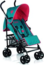 Be Cool Chic Silla Ligera Plegado Tipo Paraguas, Respaldo Reclinable 4 Posiciones, Uso desde los 6 Meses, Color Wave