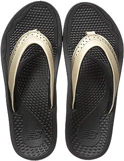 ed7bc9439063f8 Amazon.com  Gold - Flip-Flops   Sandals  Clothing