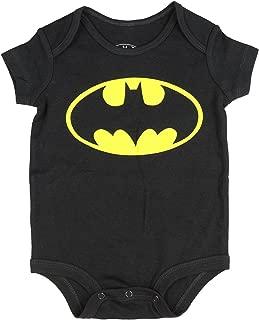 DC Comics Batman Logo Baby Snapsuit Romper