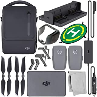 DJI Mavic 2 Fly More Kit with Starter Accessory Bundle – Includes: Landing Gear Extensions/Stabilizers + Landing Pad + Len...