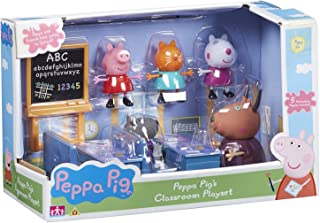 Officel Peppa Pig Playset De La Salle De Classe - Madame la