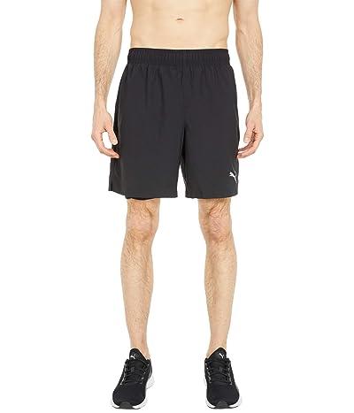 PUMA Run Favorite 7 2-in-1 Woven Shorts (PUMA Black) Men