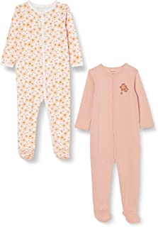 NAME IT Mädchen Baby-und Kleinkind-Schlafanzüge 2er Pack