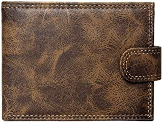 Gy-MIANBJADS Luxury Mens Wallet Leather Bifold Short Wallets Men Hasp Vintage Male Purse Coin Pouch Multi-functional Cards...