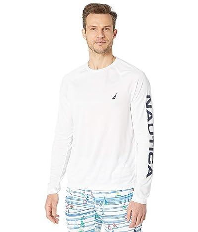 Nautica Logo Graphic Swim Shirt
