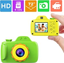 Smallest Kid Digital Camera,ZTour Mini Creative Cute HD Digital Children Camcorders,Sport Action Toy Camera Video Recorder with 1.5 Inch Screen,Soft Silicone Protective Shell for Boys Girls Gifts