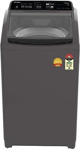 Whirlpool 7 Kg 5 Star Royal Plus Fully-Automatic Top Loading Washing Machine (WHITEMAGIC ROYAL PLUS 7.0, Grey, Hard Water Wash) 1